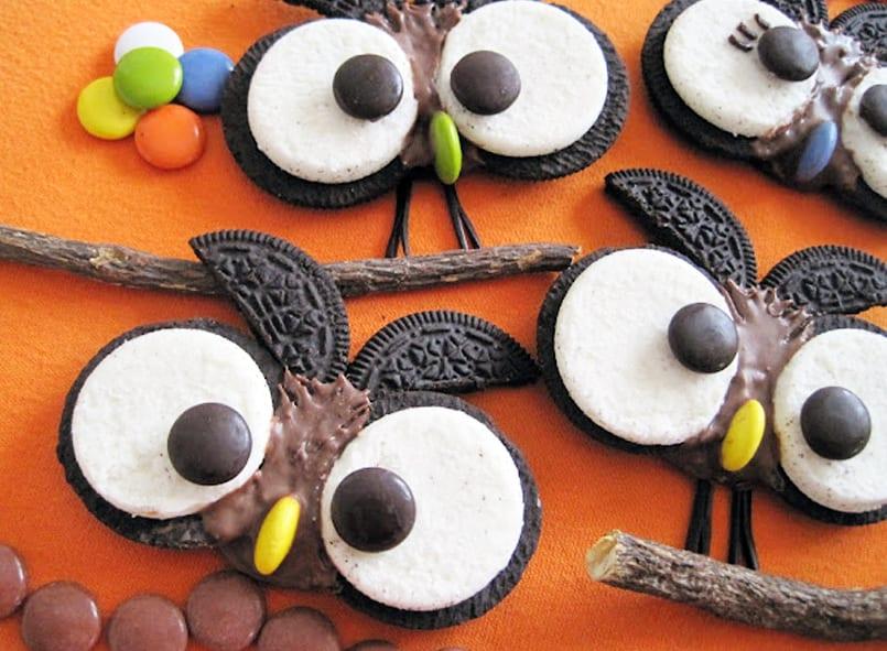 Galletas de bho para Halloween Recetn