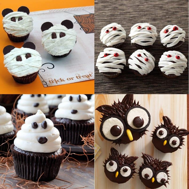 Ideas Para Decorar Tus Cupcakes De Halloween