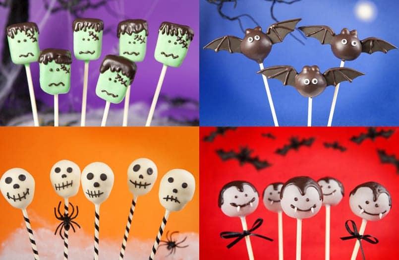 Los 5 mejores cake pops para Halloween