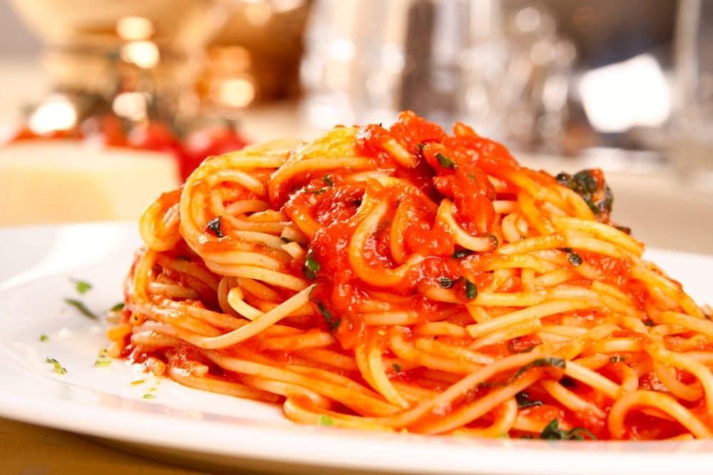 10 formas de presentar un buen plato de pasta