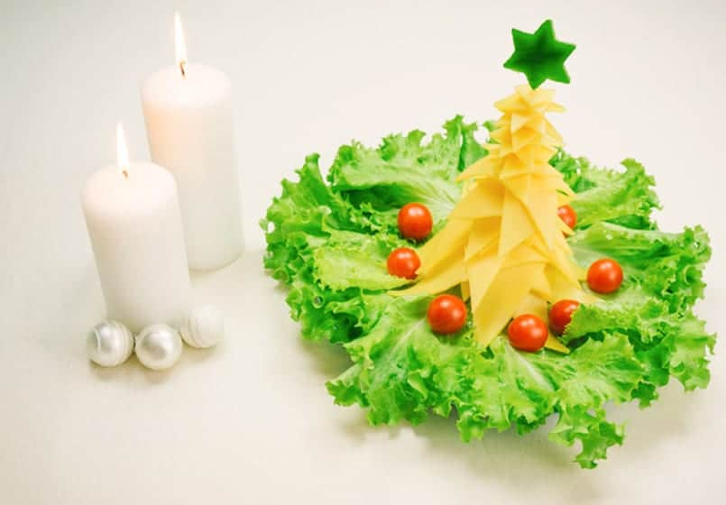 arbol de navidad de queso un perfecto entrante - Arbol De Navidad