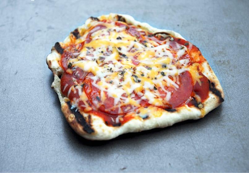 Cómo hacer una pizza en una sandwichera