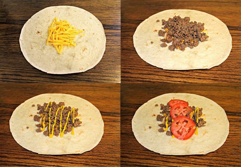 Burritos De Carne Picada Fáciles Y Muy Sanos Recetín Recetín
