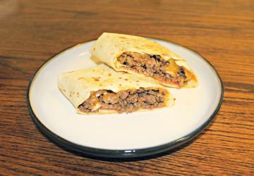 Burritos de carne picada, fáciles y muy sanos