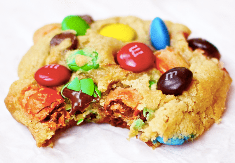 Cookies rellenas de M&M´s