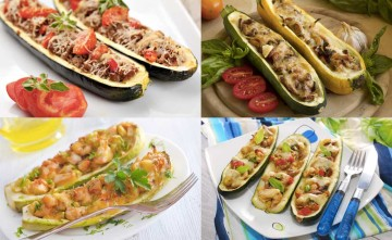 4 recetas de calabacines rellenos para pequeños y mayores