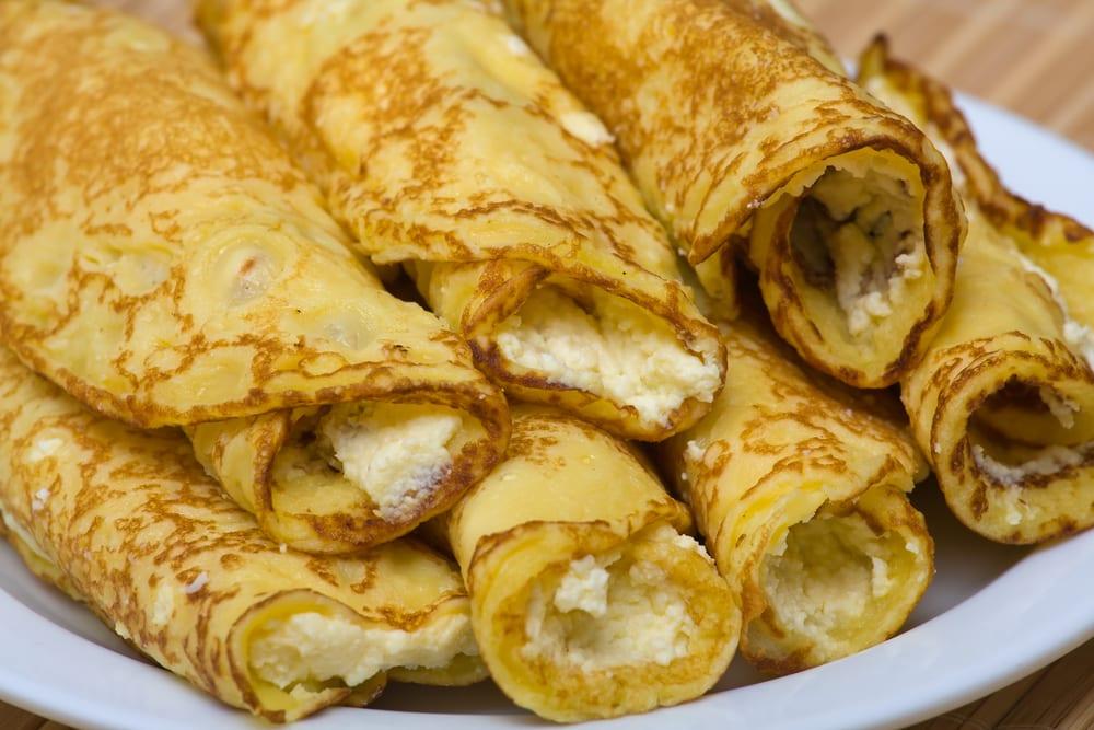 Crepes de queso para picar a cualquier hora recet n - Ingredientes para crepes ...