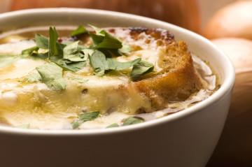Sopa de cebolla para Otoño