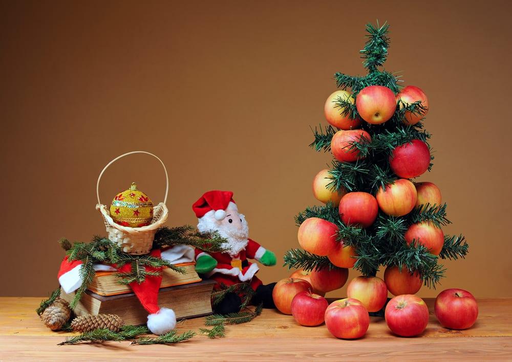 6 rboles de navidad con fruta para hacer con los peques - Imagenes Arboles De Navidad