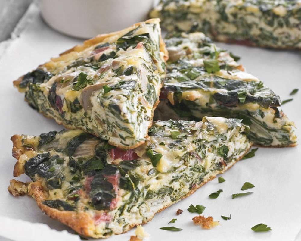 Recetas De Cocina Con Espinacas | Pastel De Espinacas A La Sarten Recetin