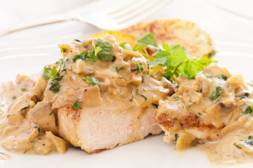 Pollo a la mostaza en 10 minutos