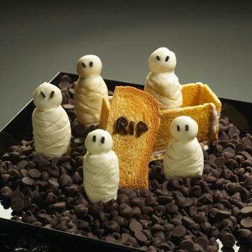 Momias de Galleta para Halloween