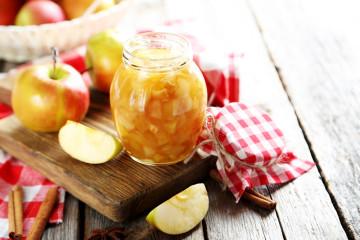 Compota de manzana