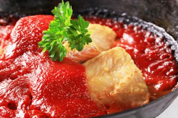 Bacalao confitado con tomate, preparándonos para Semana Santa