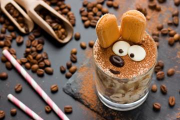 Tiramisú de chocolate para niños