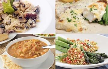 Menú semanal del 30 de Mayo al 3 de Junio