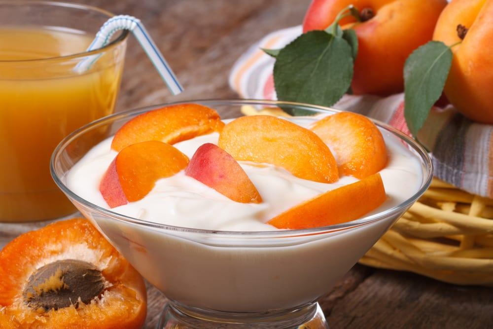Yogurt con melocotón, ¿el postre perfecto?