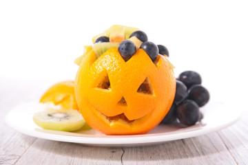 Macedonia especial para Halloween