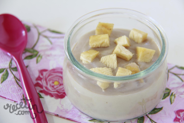 papilla frutas con leche materna
