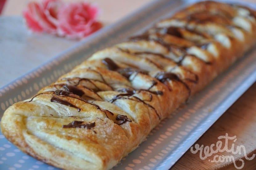 Cocinar Con Masa De Hojaldre | Dulce Hecho Con Hojaldre Y Mermelada De Fresa Espectacular