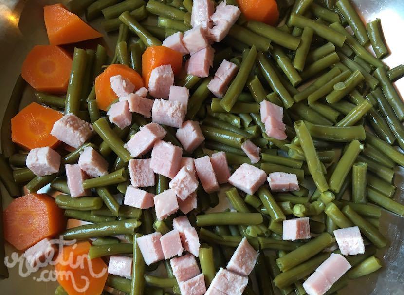 Ensalada templada de arroz jam n y jud as verdes recet n for Ideas de que cocinar
