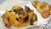 arroz con níscalos