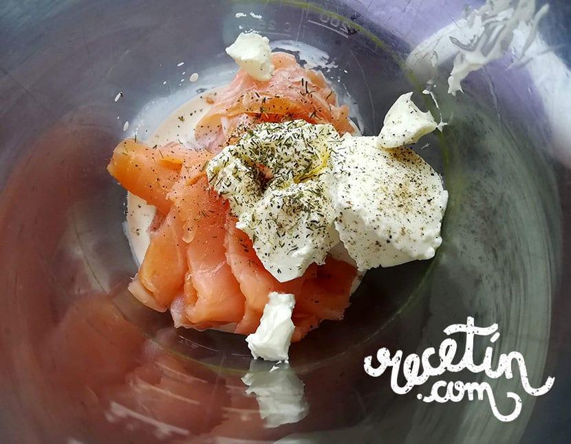 mousse de salmon ahumado