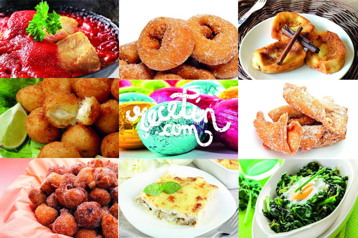10 recetas de semana santa
