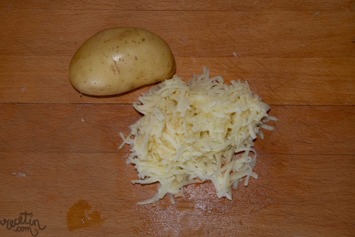 Tortitas con vegetales