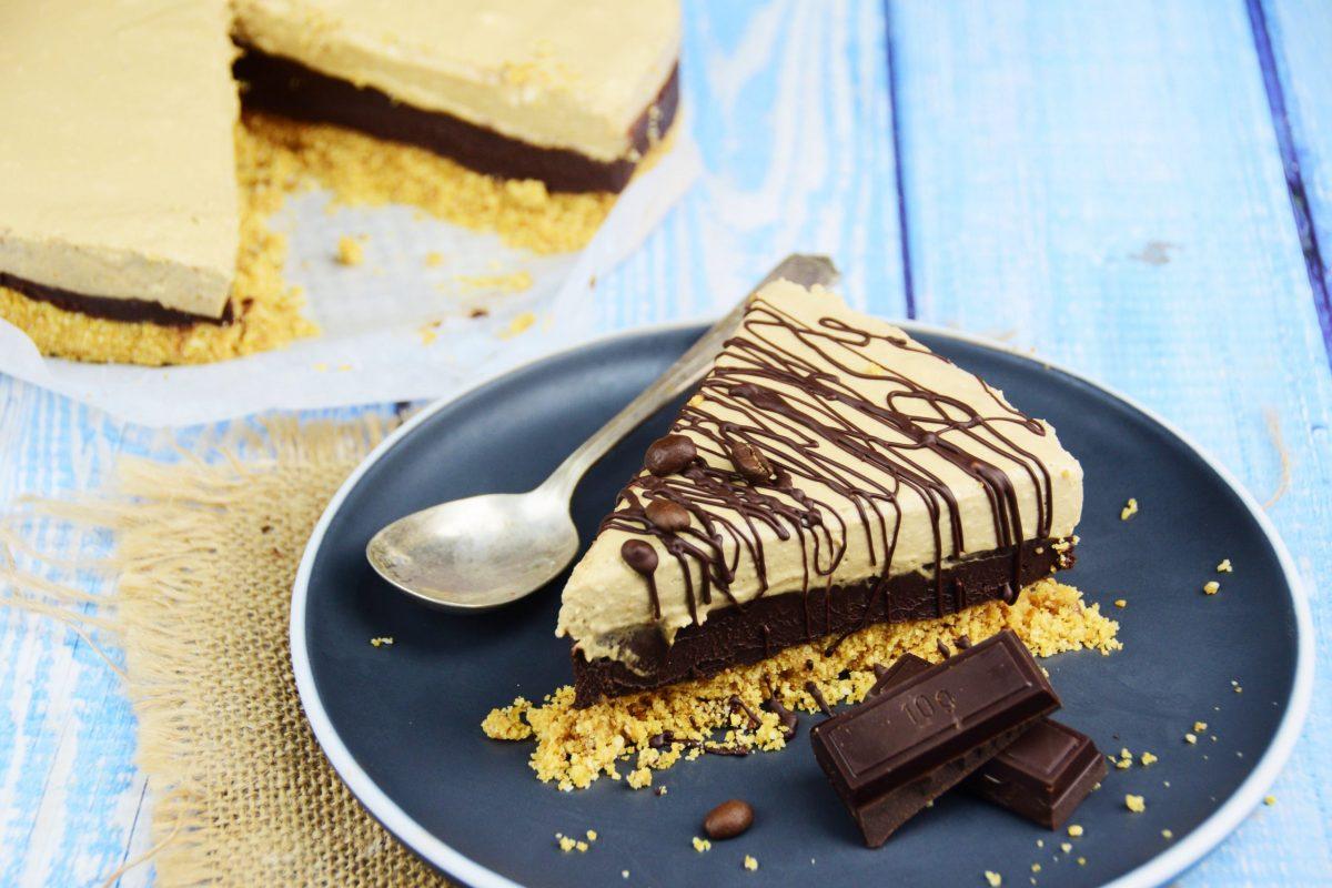 Tarta de chocolate al tiramisú